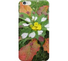 Heart Petal Mandala iPhone Case/Skin