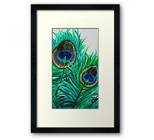 Greeny Framed Print