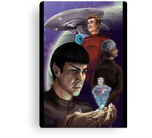 Star Trek - True Logic to the Universe Canvas Print