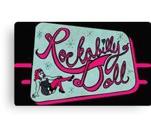 Rockabilly Doll Canvas Print