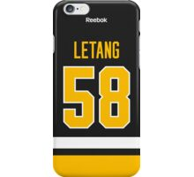 Pittsburgh Penguins Kris Letang Jersey Back Phone Case iPhone Case/Skin
