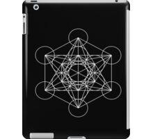 Metatron's Cube (White) iPad Case/Skin