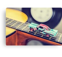 Rock & Roll Car Canvas Print