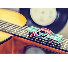 Rock & Roll Car Photographic Print