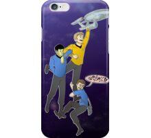Boldly Go - Star Trek Triumvirate iPhone Case/Skin