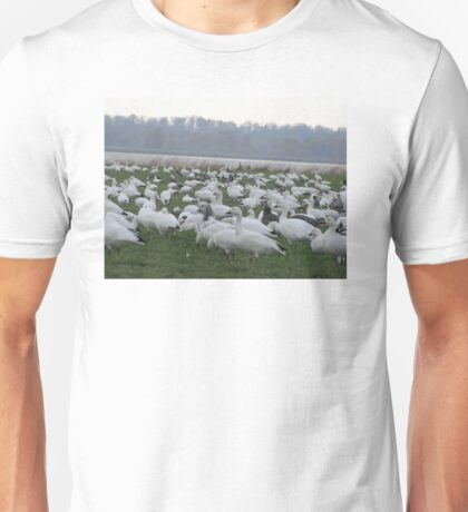 Snow geese family migrations Unisex T-Shirt