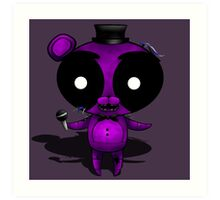 FNaF 2 - Chibi Shadow Freddy Art Print