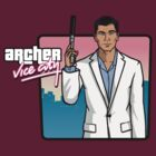 Archer Vice City by RumShirt
