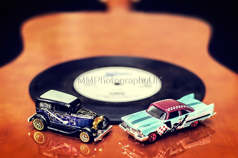 Blues and Rock Cars by MMPhotographyUK