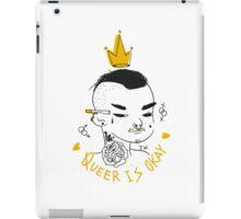 Queer is OK! iPad Case/Skin