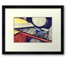 Blues Car Framed Print