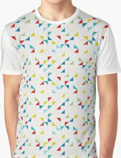 Retro polygonal seamless pattern Graphic T-Shirt