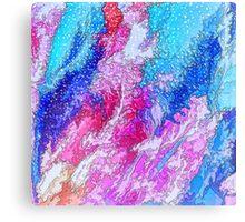 Sparkling Sea Abstract Canvas Print