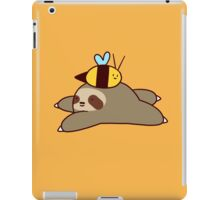 Sloth and Bee iPad Case/Skin
