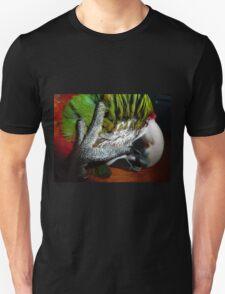 Jubilee macaw with a headache! Unisex T-Shirt