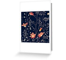Wild plants and flowers Greeting Card
