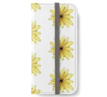 Yellow Flowers iPhone Wallet/Case/Skin