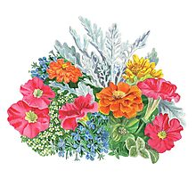 Floral Design Photographic Print