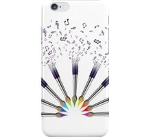 Paint The world with Music iPhone Case/Skin