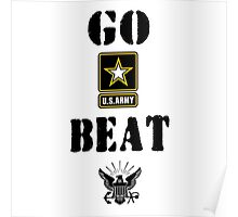 GO ARMY BEAT NAVY Poster