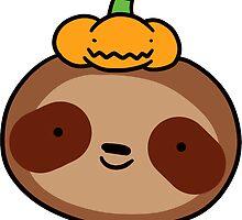 Pumpkin Sloth by SaradaBoru