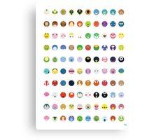 Pokemon - Gen 2 Canvas Print