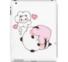 Love Yuri Panda iPad Case/Skin