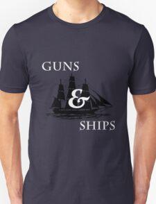 Hamilton: Guns & Ships Unisex T-Shirt