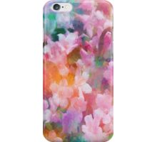 Floral Dance Abstract iPhone Case/Skin