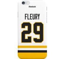 Pittsburgh Penguins Marc-Andre Fleury Away Jersey Back Phone Case iPhone Case/Skin
