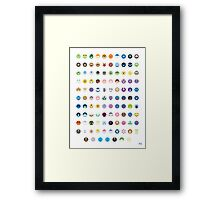 Pokemon - Gen 4 Framed Print
