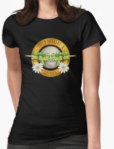 Supersoakers 'n Daisies Womens Fitted T-Shirt