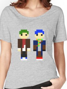 Mitch and Cozy - Pixel Women's Relaxed Fit T-Shirt