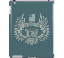 Veteran T iPad Case/Skin