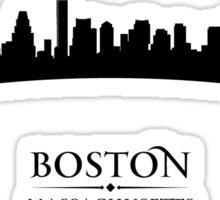 Boston Massachusetts Cityscape Sticker