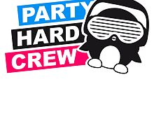 Party Hard Crew Logo by Style-O-Mat
