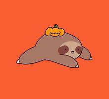 Sloth and Pumpkin by SaradaBoru