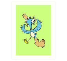 Birdfoot Art Print