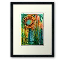 El Sol Framed Print