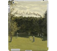 Train in the Countryside by Claude Monet iPad Case/Skin