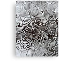 Abstract Pattern - January Canvas Print