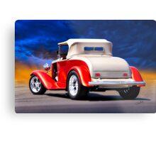 1932 Chevrolet Roadster 'Journey's End' Metal Print