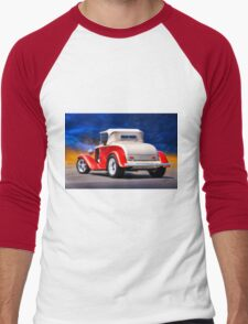 1932 Chevrolet Roadster 'Journey's End' Men's Baseball ¾ T-Shirt