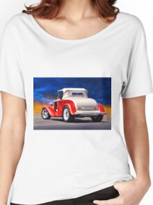 1932 Chevrolet Roadster 'Journey's End' Women's Relaxed Fit T-Shirt