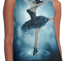 Dancing in the wind Contrast Tank