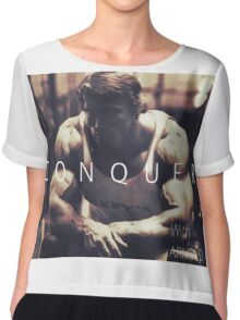 Conquer with Arnold Schwarzenegger Chiffon Top