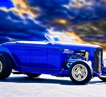 1932 Ford Roadster 'Purple HiBoy' by DaveKoontz