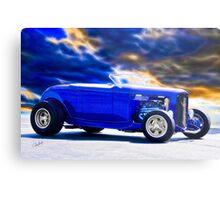 1932 Ford Roadster 'Purple HiBoy' Metal Print