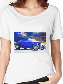 1932 Ford Roadster 'Purple HiBoy' Women's Relaxed Fit T-Shirt
