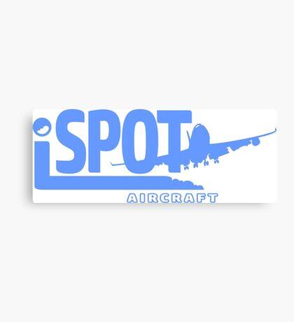 iSPOT Aircraft Canvas Print